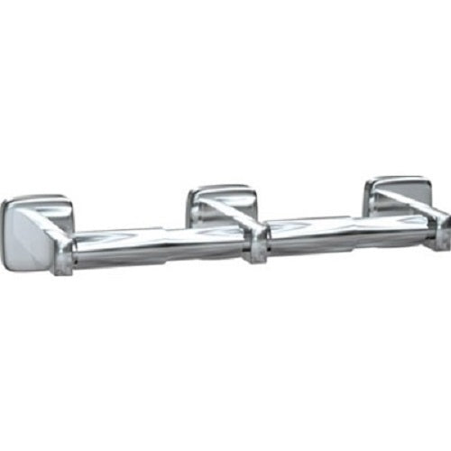 ASI 7305-2B | American Specialties Double-Roll Toilet Paper Holder, Bright Stainless Steel
