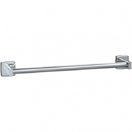 "ASI 7355-18S | American Specialties 18"" Round Towel Bar, Satin Finish"