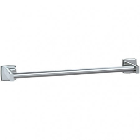 "ASI 7355-24B | American Specialties 24"" Round Towel Bar, Bright Finish"