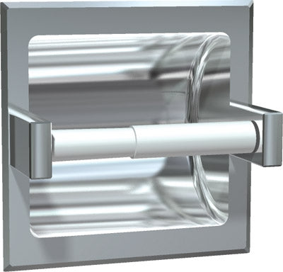 ASI 7402-BD | American Specialties Single Toilet Paper Holder, Bright, Recessed
