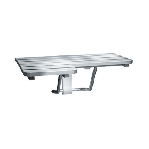 ASI 8208-R | American Specialties Folding Shower Seat, Stainless Steel, Right Hand
