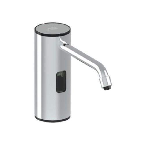 American Specialties ASI 0334-B Automatic Liquid Soap and Gel Hand Sanitizer Dispenser Vanity Mounted Bright Finish