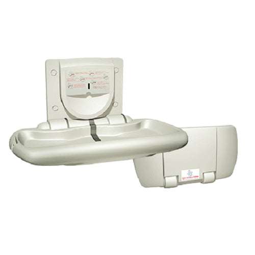 American Specialties ASI 9012 Baby Changing Station Plastic Surface Mounted