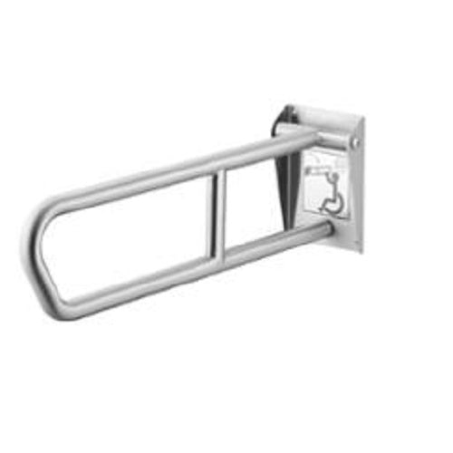 "Bradley 8372-102 | 34"" Swing-up Grab Bar with Safety Grip Finish"