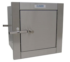 "Carr SPT-12DD SPT121217 Specimen Pass Through Cabinet, 12"" x 12"", 17"" Deep, Stainless Steel"
