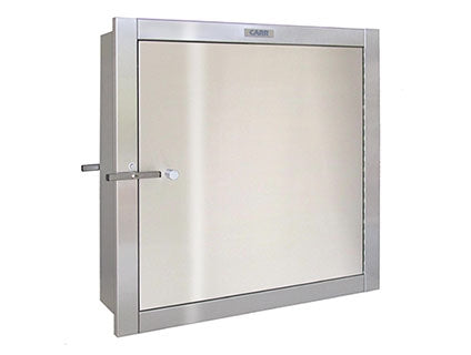 "Carr SPT-24 SPT24247 Specimen Pass Through Cabinet, 24"" x 24"", 7"" Deep, Stainless Steel"