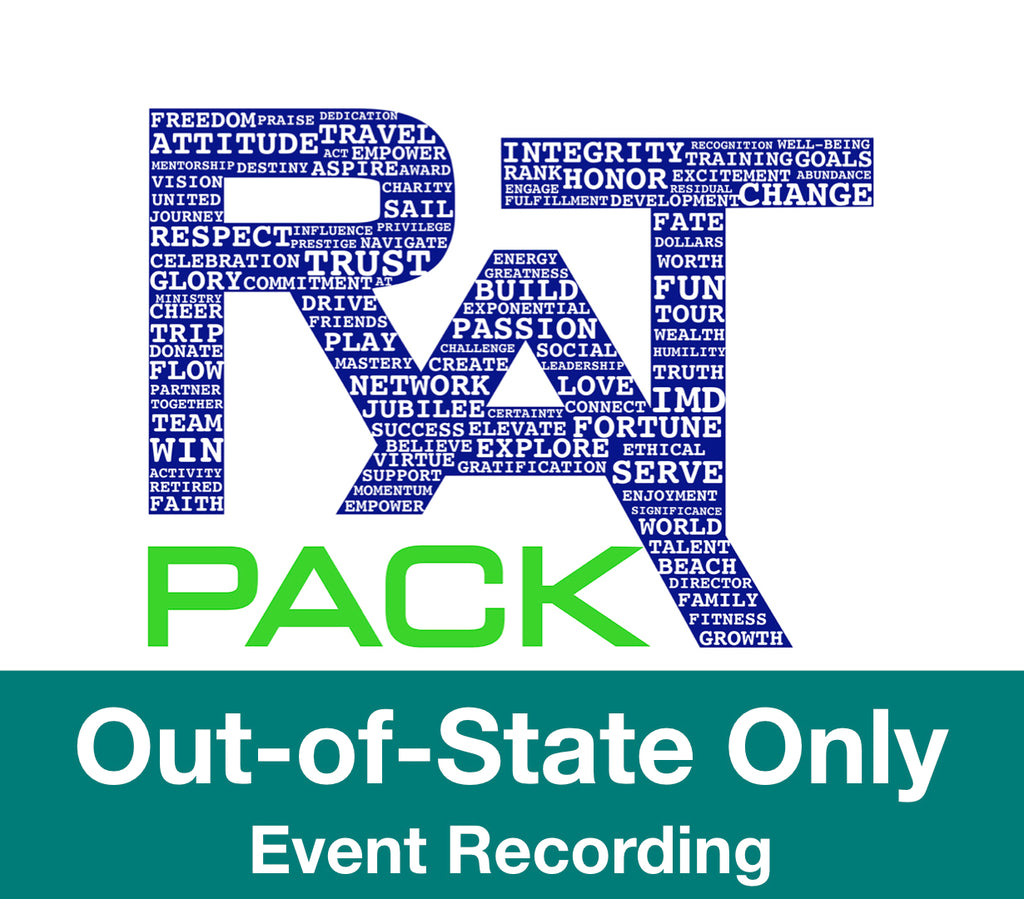 Out-of-State Only (Post Event Recording)