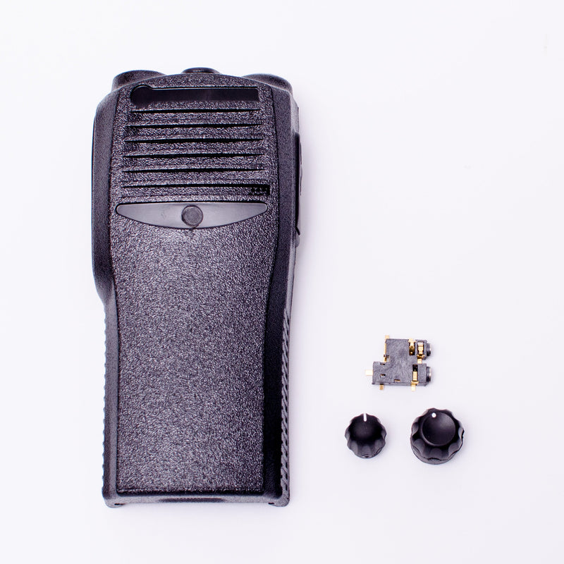 Maxtop ACC-SPCOMBO-01 Special Combo Front Housing Audio Jack Volume Channel Knob Replacement Set for Motorola CP200