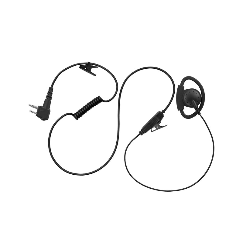 Maxtop AEH2000-H1 Adjustable D-sharp Earhanger for Hytera HYT TC-500 TC-508
