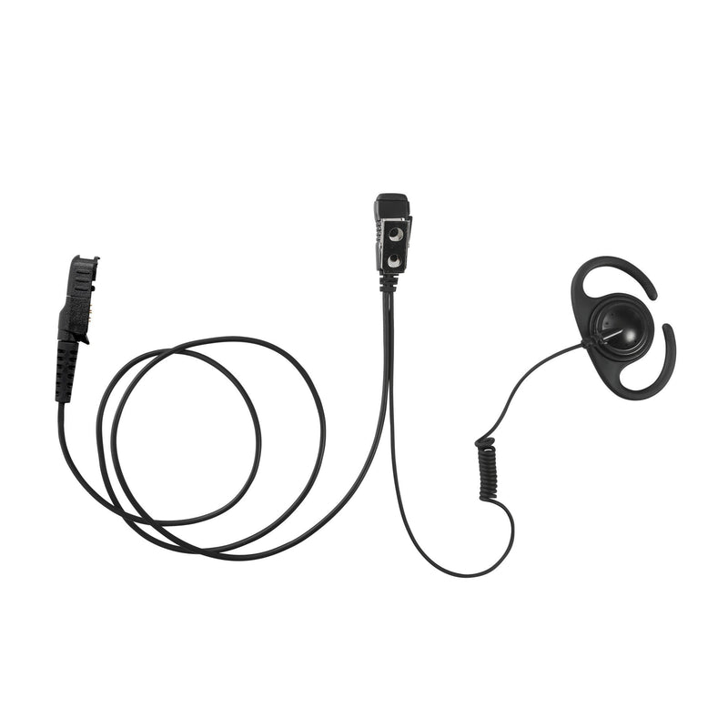 MAXTOP AEH4000-AX Split D-Ring Earpiece for Motorola XPR3300 XPR3500