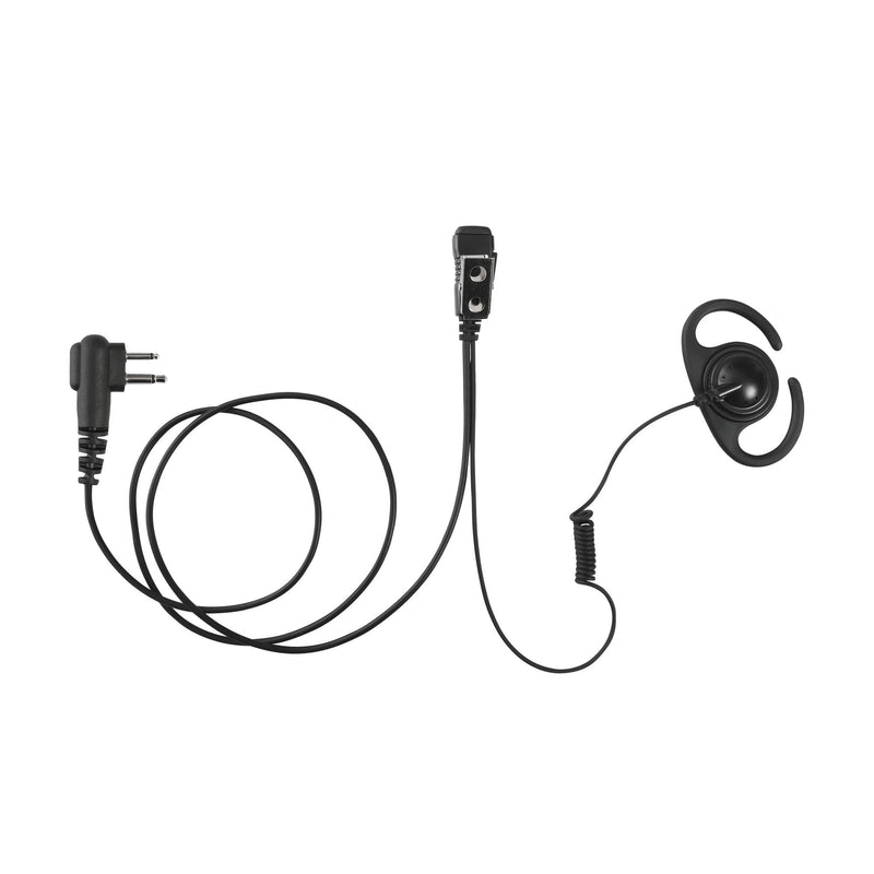 MAXTOP AEH4000-H1 Split D-Ring Earpiece for Hytera/HYT TC-500 TC-508