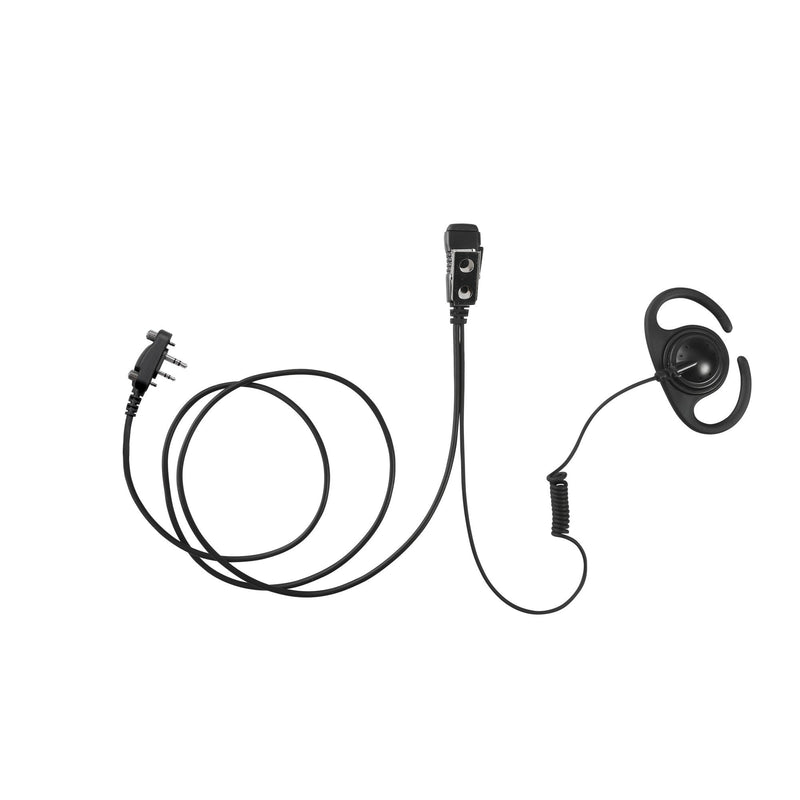 MAXTOP AEH4000-I2 Split D-Ring Earpiece for ICOM IC-F11 IC-F21