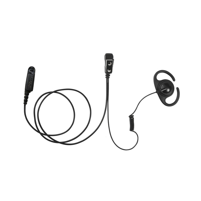 MAXTOP AEH4000-M5 Split D-Ring Earpiece for Motorola GP328 HT750