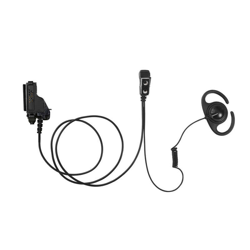 MAXTOP AEH4000-M7 Split D-Ring Earpiece for Motorola XTS5000 MTS2000