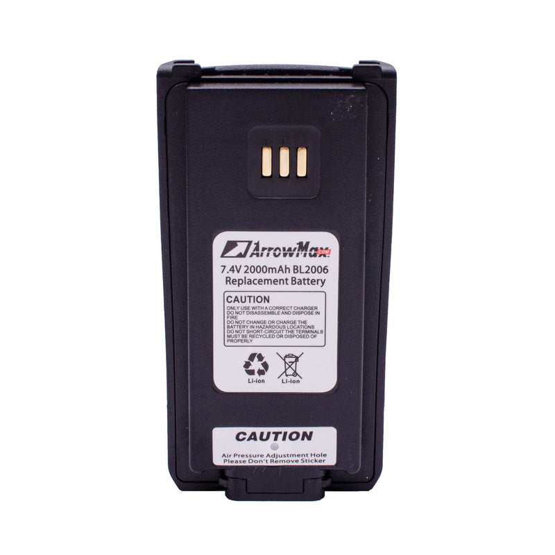ArrowMax AHCL2006-2000-D Li-ion Battery for Hytera PD70X PD88XT
