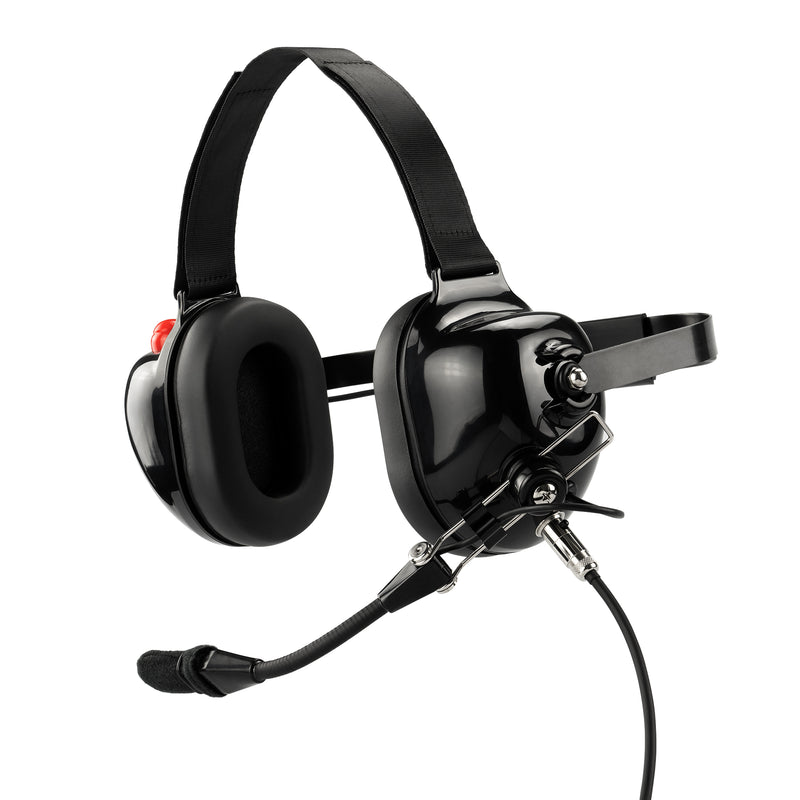 Maxtop AHDH0032-BK-AX Noise Cancelling Headset for Motorola XPR3300 XPR3500