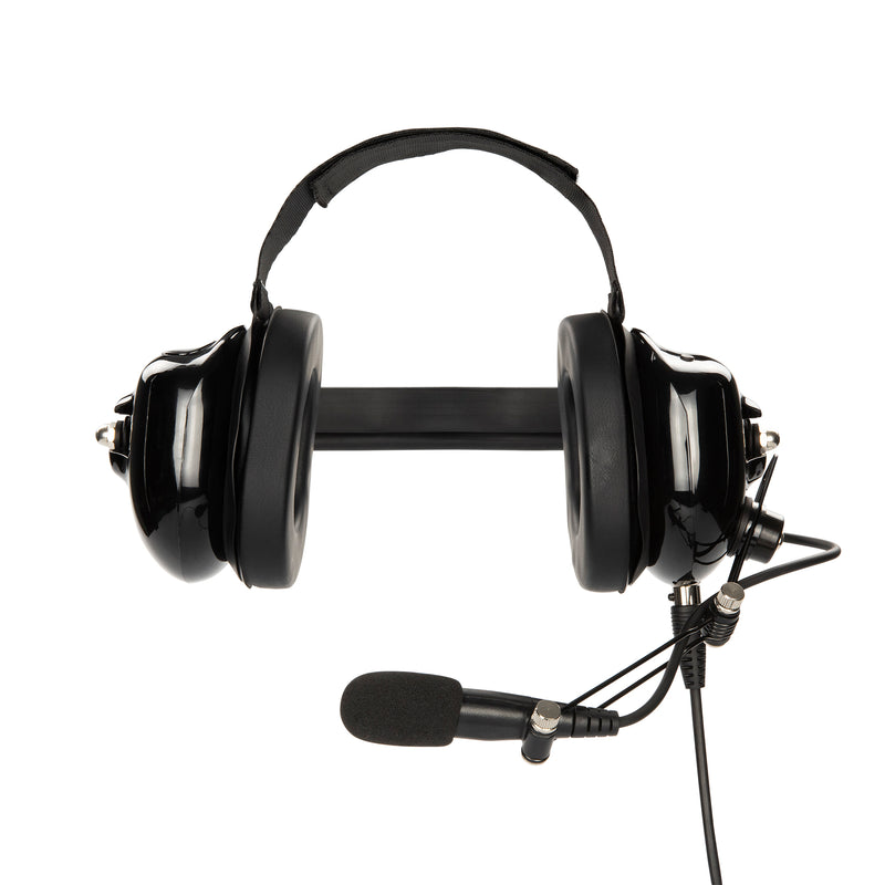 Maxtop AHDH0032-BK-H4 Noise Cancelling Headset for Hytera TC-508 TC-580
