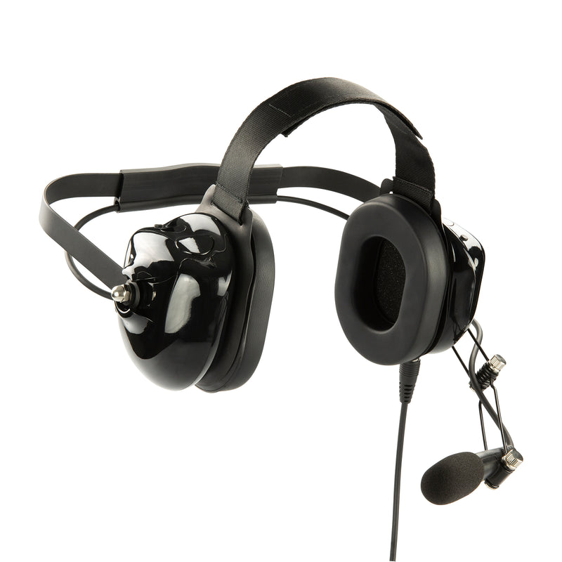 Maxtop AHDH0032-BK-I2 Noise Cancelling Headset for ICOM IC-F11 IC-F21