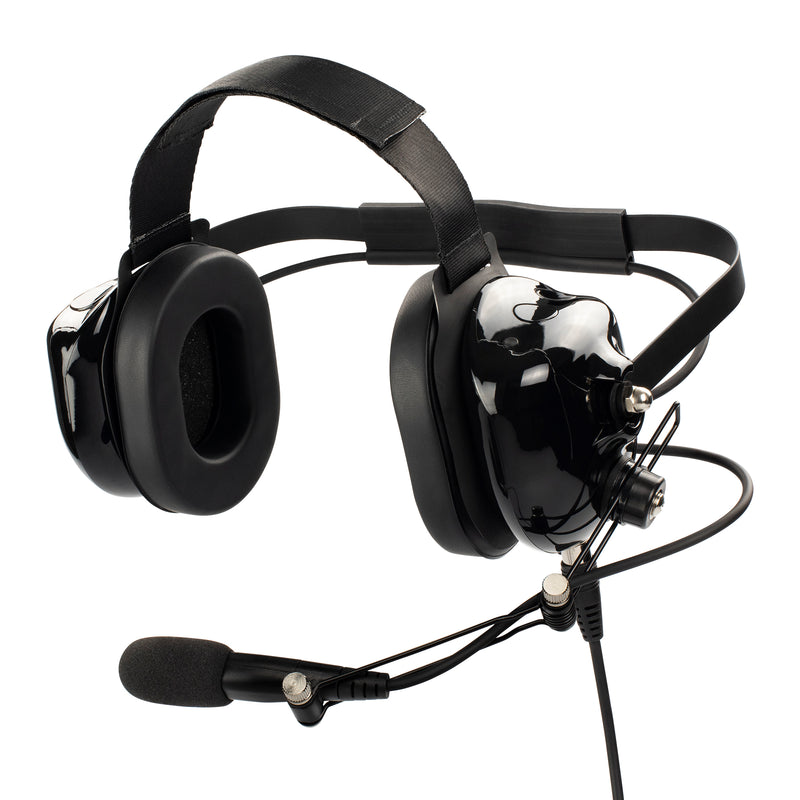 Maxtop AHDH0032-BK-K2B Noise Cancelling Headset for Baofeng UV-5X3 UV-5R