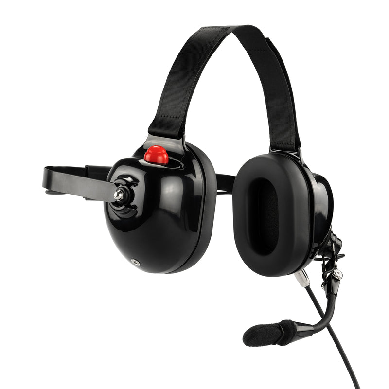 Maxtop AHDH0032-BK-M5 Noise Cancelling Headset for Motorola GP328 HT750