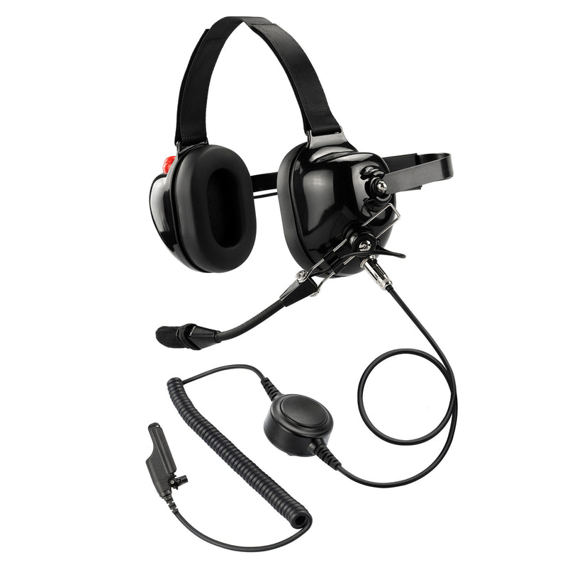 Maxtop AHDH0032-BK-M7 Noise Cancelling Headset for Motorola XTS5000 MTS2000