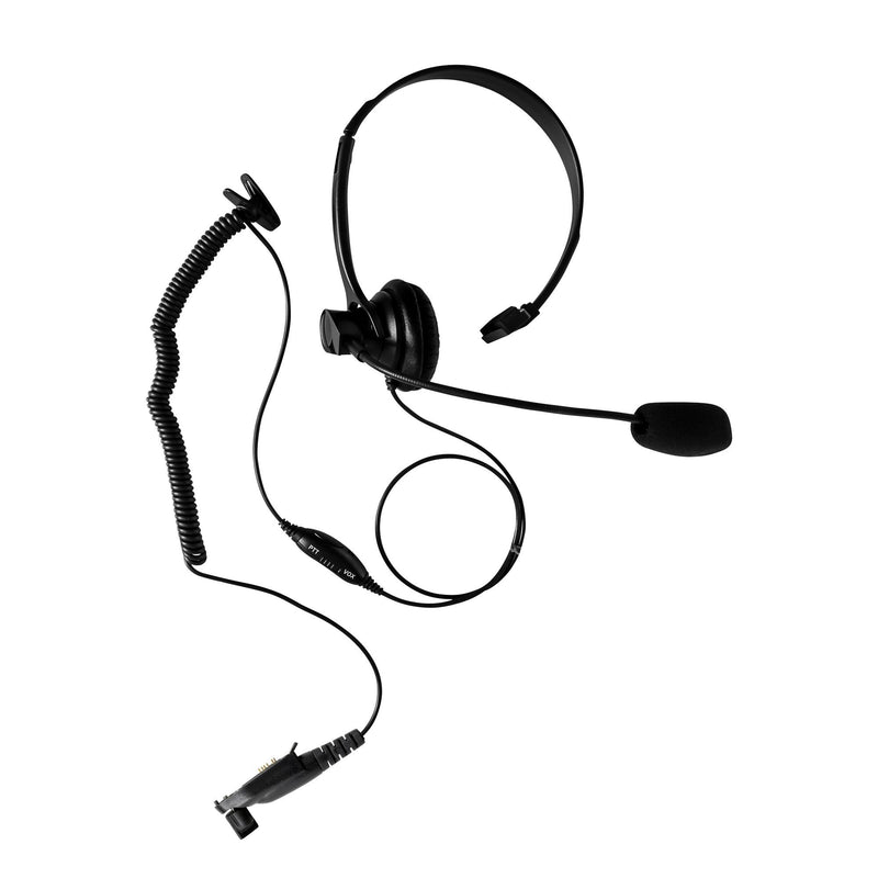 Maxtop AHDH1000-H3 Single Muff Headset for Hytera HYT TC-3000 TC-3600