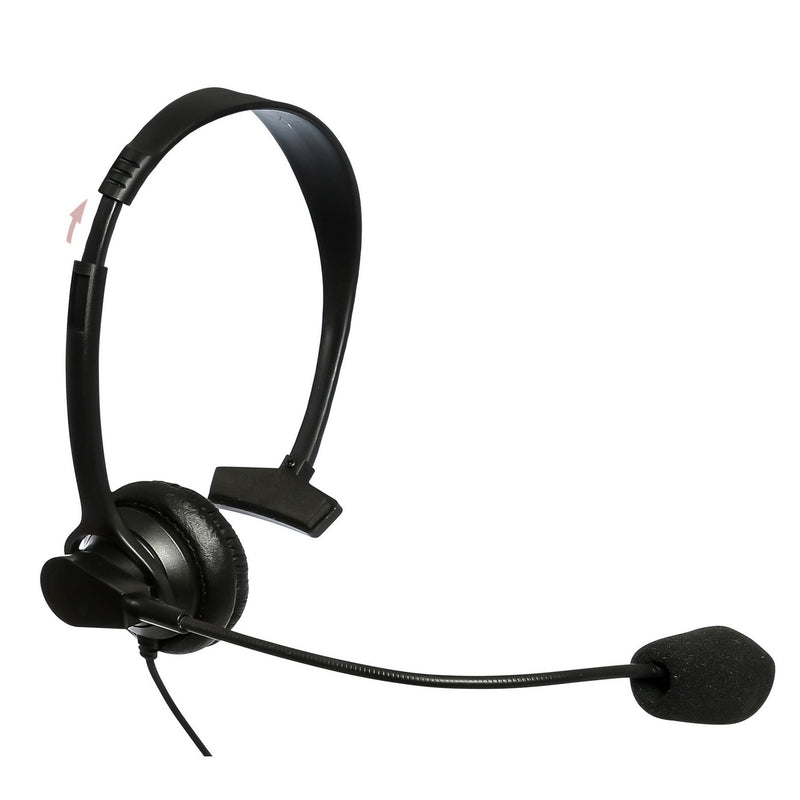 Maxtop AHDH1000-K4 Single Muff Headset for Kenwood PKT-23