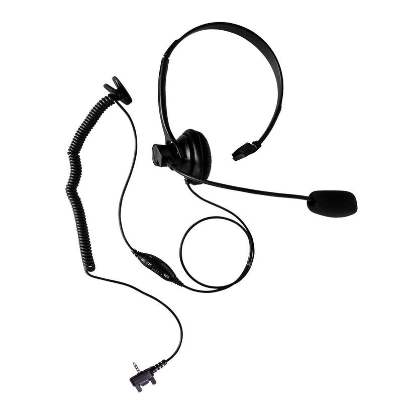 Maxtop AHDH1000-Y3 Single Muff Headset for Vertex EVX-261 VX-132