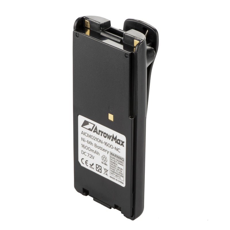ArrowMax AICM0210N-1600-D Ni-MH Battery for ICOM IC-A6 IC-A6E