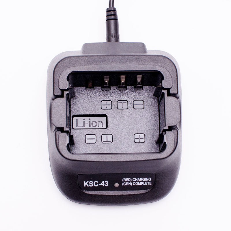 ArrowMax AK1R0043-120-V3 KSC-43 Rapid Charger for Kenwood KNB-29N KNB-45 KNB-53N KNB-63L TH-K20E TH-K40E