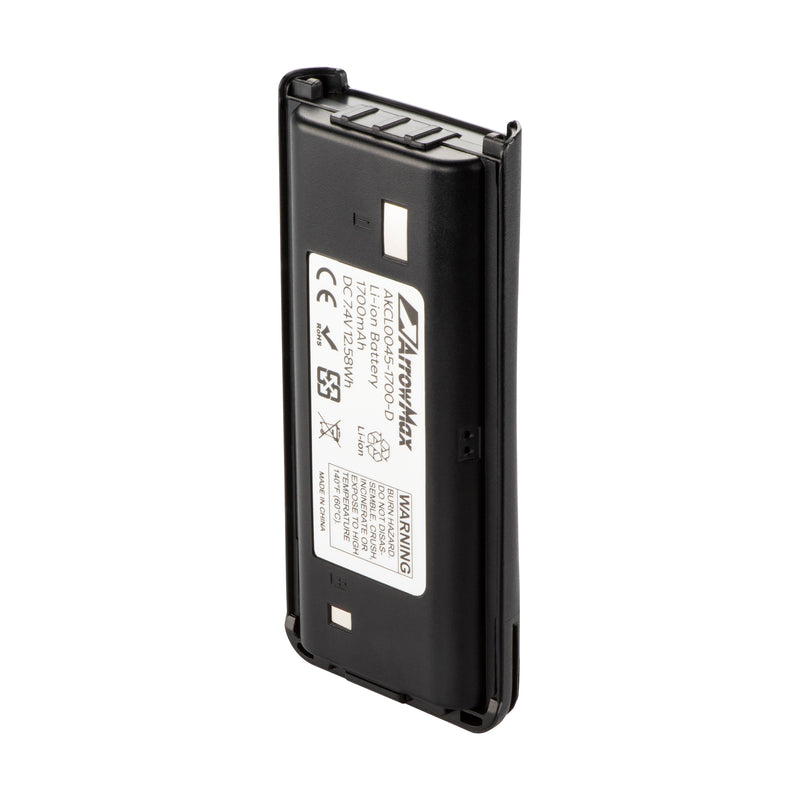 ArrowMax AKCL0045-1700-D Li-ion Battery for Kenwood TK-2200L TK-3200L