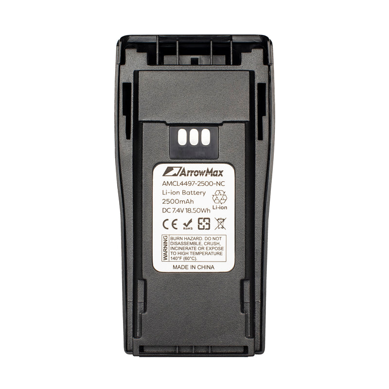 ArrowMax AMCL4497-2500-D Li-ion Battery for Motorola CP200 EP450