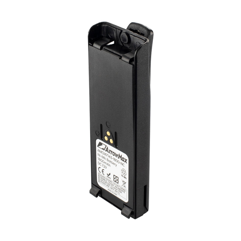 ArrowMax AMCM7143-1800-D Ni-MH Battery for Motorola HT1000 MT2000