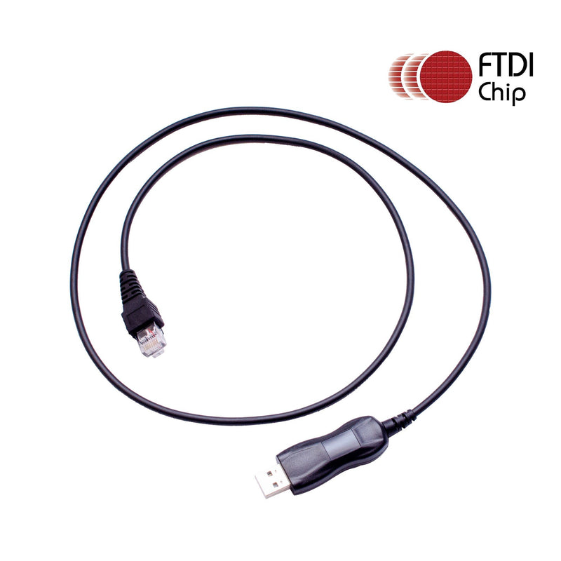 Maxtop APCUSB-K30-8PIN FTDI USB Programming Cable RJ45 8Pin as KPG-46U for Kenwood NX-700 NX-800 NX-900 NXR-710 TK-630