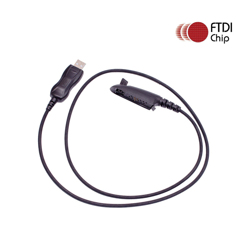 Maxtop APCUSB-MR4074 FTDI USB Programming Cable for Motorola HT750 MTX8250LS GP328 GP329 GP338 PRO5150 PRO5350 PRO5450