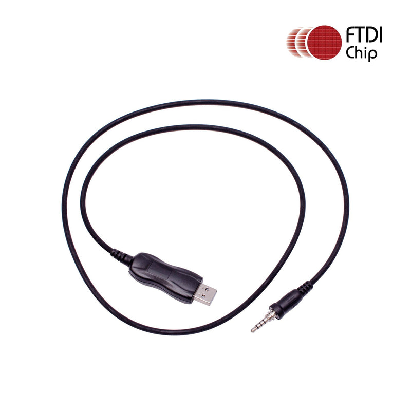 Maxtop APCUSB-YR91 FTDI USB Programming Cable for Yaesu FT-250R FT-270R FT-277R VX-120 VX-127 VX-170 VX-177 as CT-91