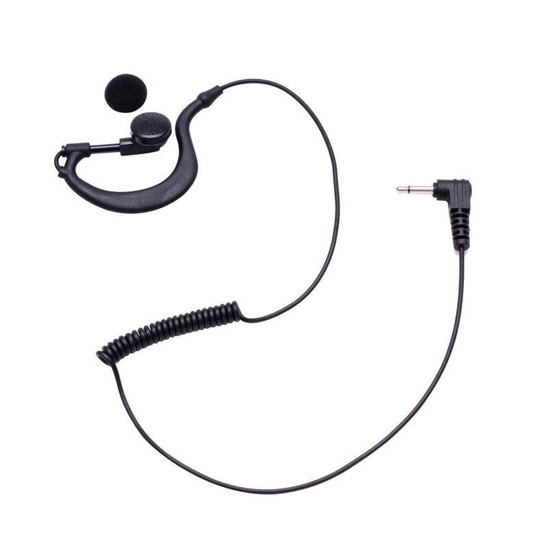 Maxtop ARP03-35L G-Sharp Earhanger Receiving Only Earphone with 3.5mm Plug for Speaker Microphone