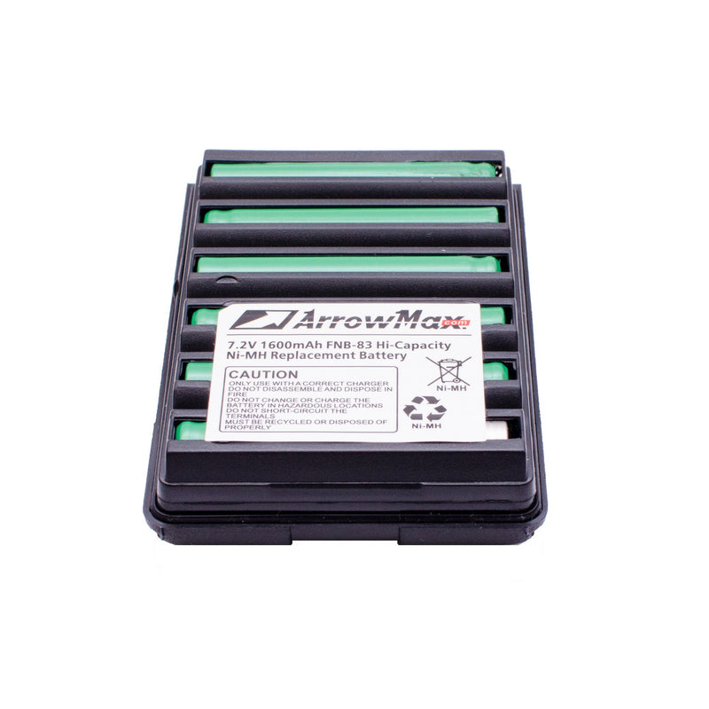 ArrowMax AVCM0083-1600-D Ni-MH Battery for Vertex VXA-120 VXA-210