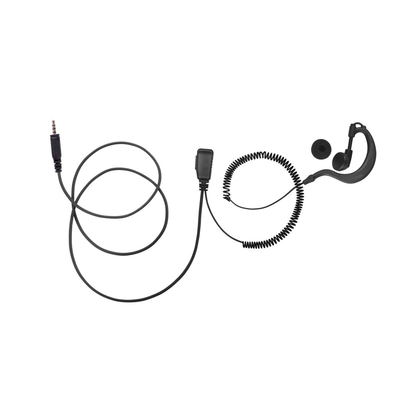 BOMMEOW BGS15-K4 G-Shape Earhanger for Kenwood PKT-23