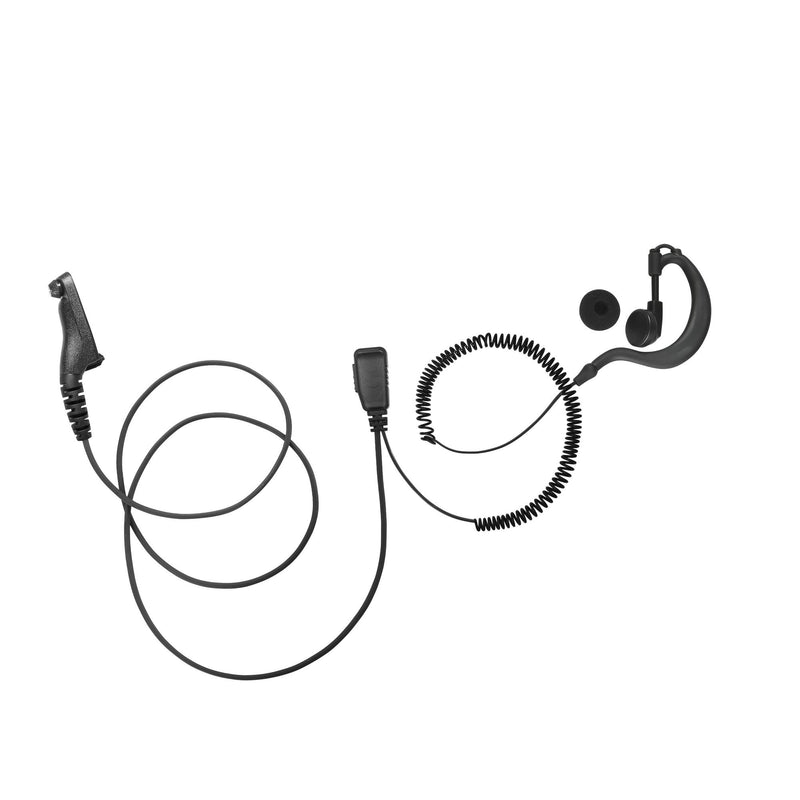 BOMMEOW BGS15-M9 G-Shape Earhanger for Motorola APX7000 XPR7350
