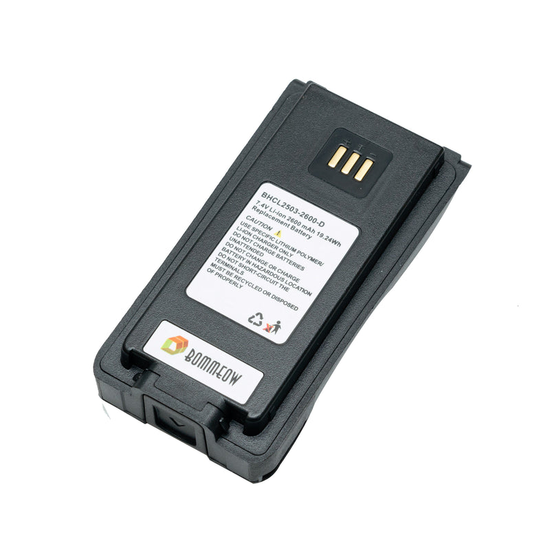 BOMMEOW BHCL2503-2600-D Li-ion Battery for Hytera PD700R PD750