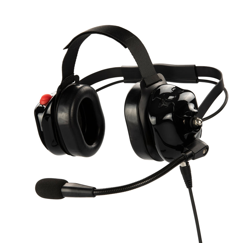 Bommeow BHDH40-BK-K2 Noise Isolation Headphone for Kenwood NX-3320 TK-3230DX