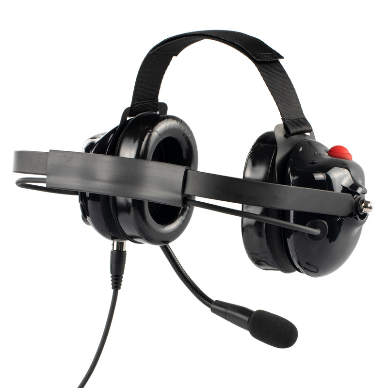 Bommeow BHDH40-BK-K2C Noise Isolation Headphone for Tytera MD-446 TYT-777
