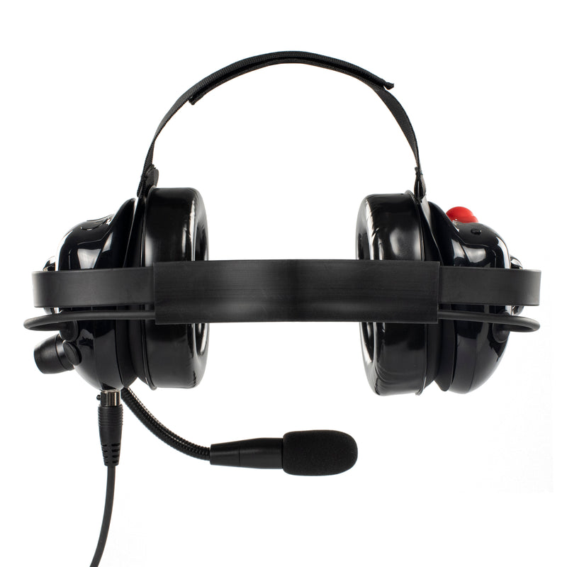 Bommeow BHDH40PTT-BK-M1A Noise Isolation Headphone for Motorola EP450 P140