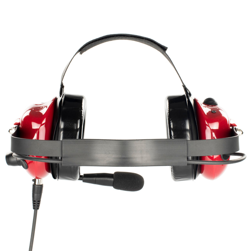 Bommeow BHDH40PTT-RD-M1A Noise Isolation Headphone for Motorola EP450 P140