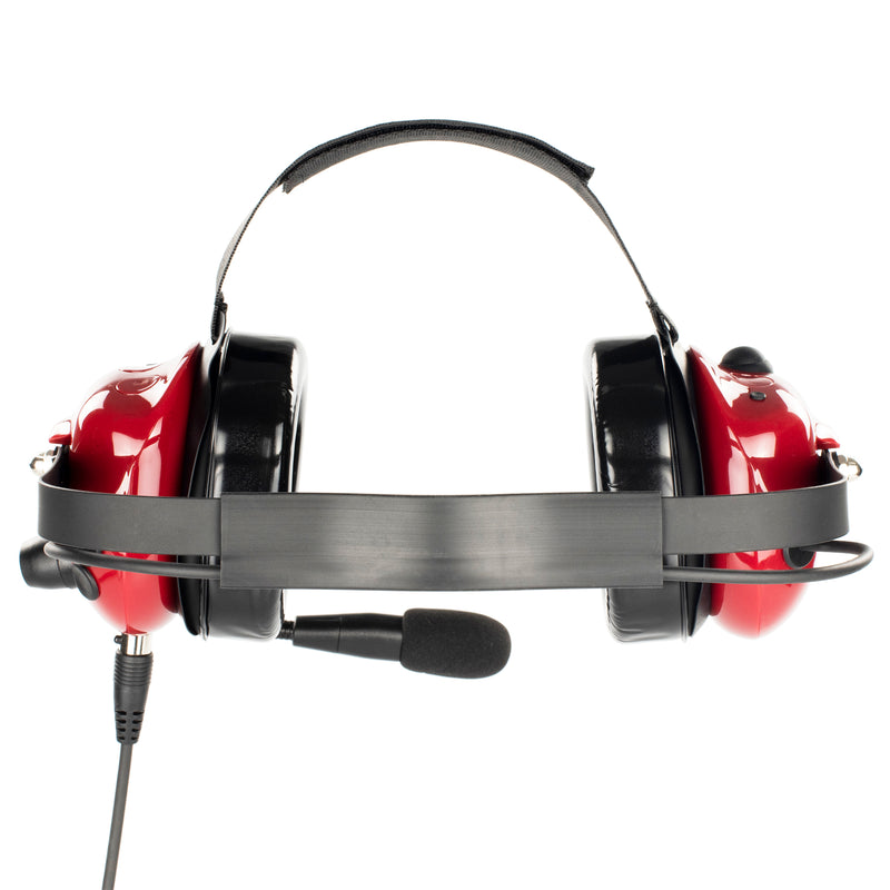 Bommeow BHDH40PTT-RD-M7 Noise Isolation Headphone for Motorola XTS5000 MTS2000