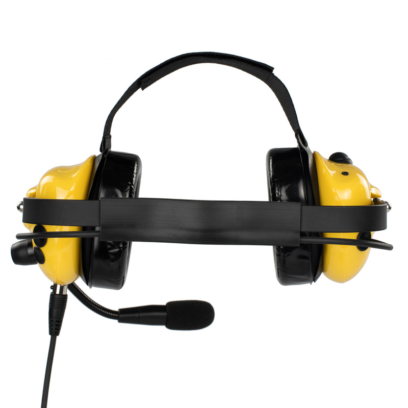 Bommeow BHDH40PTT-YW-H1 Noise Isolation Headphone for Hytera/HYT TC-500 TC-508