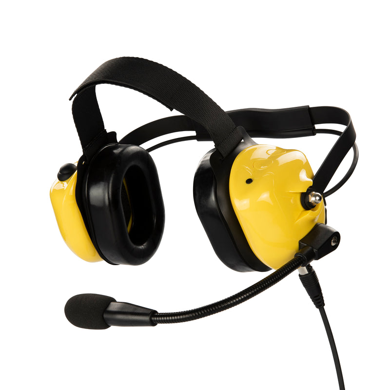 Bommeow BHDH40-YW-K2B Noise Isolation Headphone for Baofeng UV-5X3 UV-5R