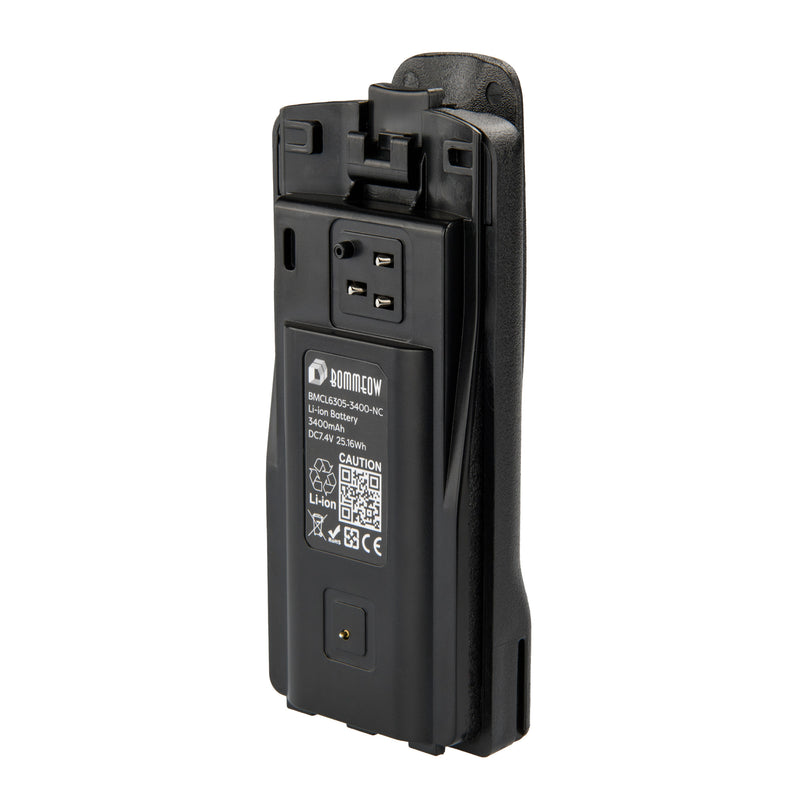 Bommeow BMCL6305-3400-D Li-ion Battery for Motorola CP110 RDM2070D