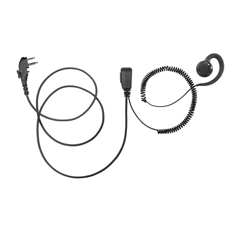 BOMMEOW BSE15-H4 Swivel Earpiece for Hytera TC-508 TC-580